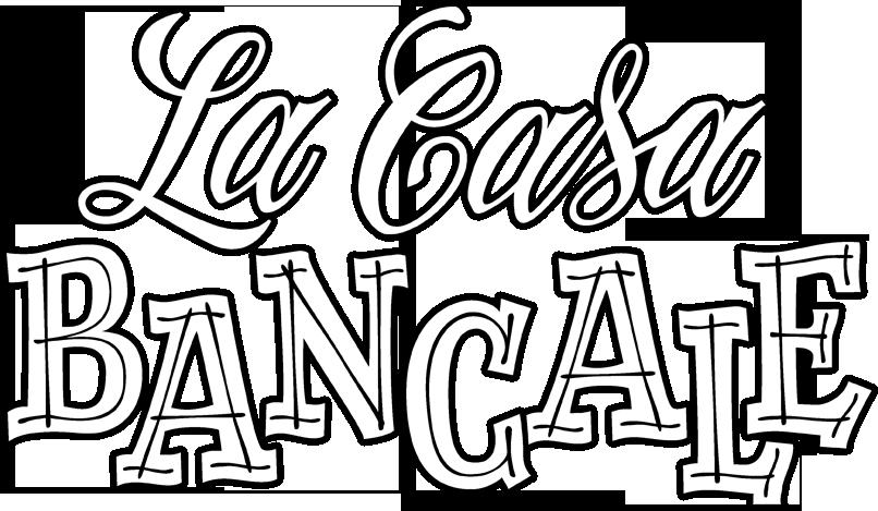 Logo La Casa Bancale noir et blanc
